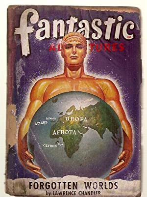 FANTASTIC ADVENTURES MAY 1948 VOLUME 10 NUMBER: Fantastic Adventures) [cover