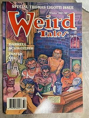 WEIRD TALES: THE UNIQUE MAGAZINE WINTER 1991-1992: Weird Tales) [Thomas