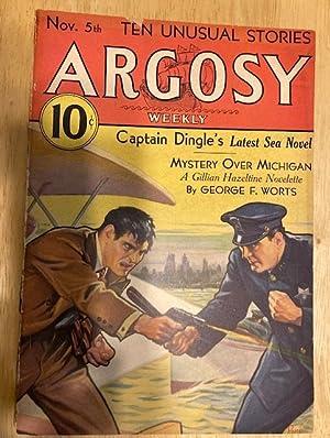 ARGOSY NOVEMBER 5, 1932 VOLUME 233 NUMBER: Argosy) [cover by
