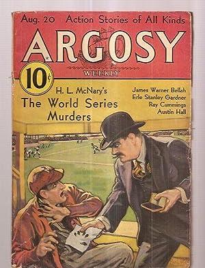 ARGOSY AUGUST 20, 1932 VOLUME 232 NUMBER: Argosy) [cover by