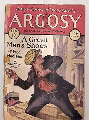 ARGOSY JANUARY 18, 1930 VOLUME 209 NUMBER: Argosy) [cover by