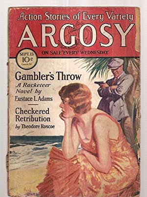 ARGOSY SEPTEMBER 13, 1930 VOLUME 215 NUMBER: Argosy) [cover by