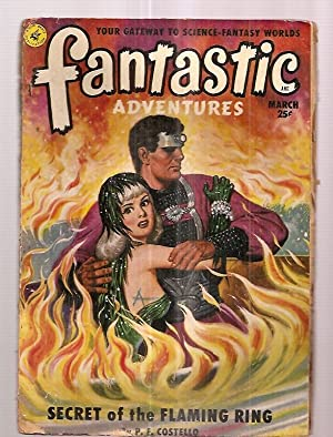 Fantastic Adventures March 1951 Volume 13 Number: Fantastic Adventures) [cover