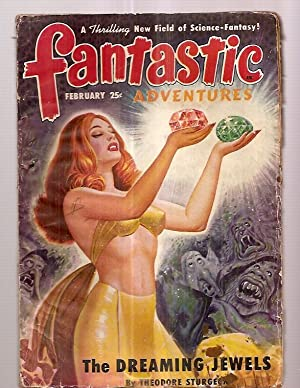 Fantastic Adventures February 1950 Volume 12 Number: Fantastic Adventures) [cover