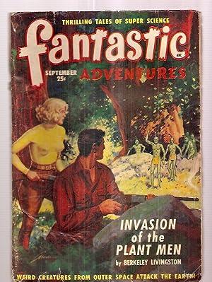 Fantastic Adventures September 1949 Volume 11 Number: Fantastic Adventures) [cover