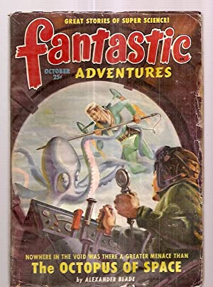 Fantastic Adventures October 1949 Volume 11 Number: Fantastic Adventures) [cover