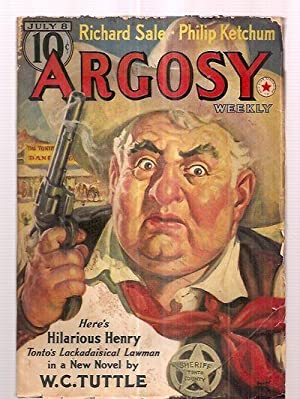 Argosy July 8, 1939 Volume 291 Number: W. C. Tuttle,