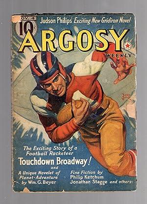 Argosy November 4, 1939 Volume 294 Number: Argosy) [cover by