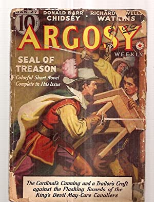 Argosy January 27, 1940 Volume 296 Number: Argosy) [cover by
