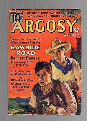 Argosy December 16, 1939 Volume 295 Number: Argosy) [cover by