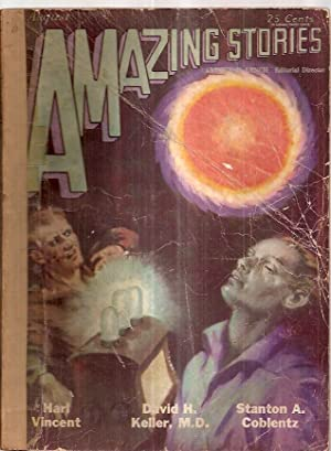 Amazing Stories August 1929 Vol. 4 No. 5