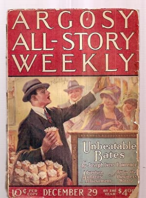 ARGOSY ALL-STORY WEEKLY DECEMBER 29, 1923 VOLUME: Argosy All-Story Weekly)