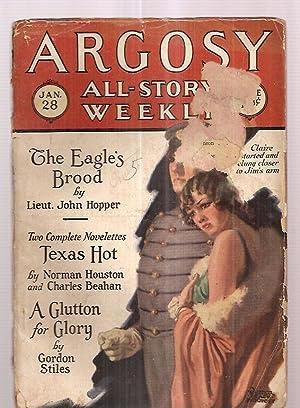 ARGOSY ALL-STORY WEEKLY JANUARY 20, 1928 VOLUME: Argosy All-Story Weekly)