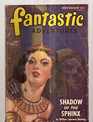FANTASTIC ADVENTURES NOVEMBER 1946 VOLUME 8 NUMBER: Fantastic Adventures) [cover