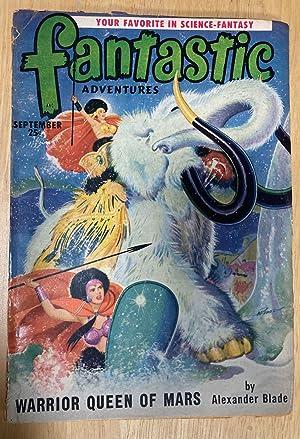 FANTASTIC ADVENTURES SEPTEMBER 1950 VOLUME 12 NUMBER: Fantastic Adventures) [cover
