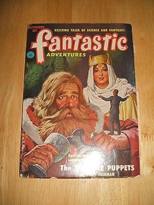 FANTASTIC ADVENTURES SEPTEMBER 1951 VOLUME 13 NUMBER: Fantastic Adventures) [cover