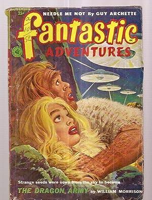 FANTASTIC ADVENTURES NOVEMBER 1952 VOLUME 14 NUMBER: Fantastic Adventures) [cover