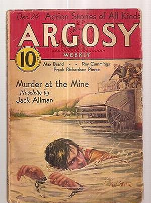 ARGOSY DECEMBER 24, 1932 VOLUME 235 NUMBER: Argosy) [cover by