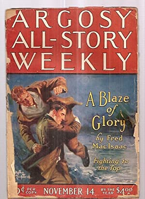 ARGOSY ALL-STORY WEEKLY NOVEMBER 14, 1925 VOLUME: Argosy All-Story Weekly)
