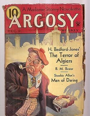 ARGOSY DECEMBER 2, 1933 VOLUME 243 NUMBER: Argosy) [cover by