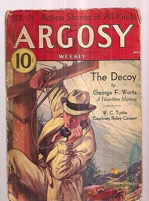 ARGOSY FEBRUARY 18, 1933 VOLUME 236 NUMBER: Argosy) [cover by