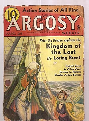 Argosy August 25, 1934 Volume 249 Number: Argosy) [cover by