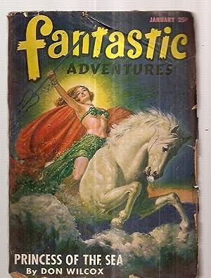 Fantastic Adventures January 1947 Volume 9 Number: Fantastic Adventures) [cover