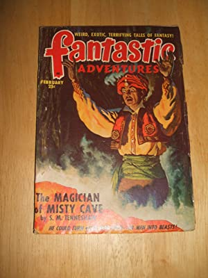 Fantastic Adventures February 1949 Volume 11 Number: Fantastic Adventures) [cover