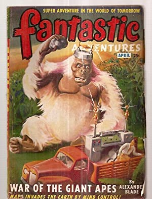 Fantastic Adventures April 1949 Volume 11 Number: Fantastic Adventures) [cover