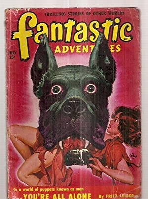 Fantastic Adventures July 1950 Volume 12 Number: Fantastic Adventures) [cover