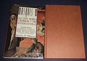 MASQUES III: ALL NEW WORKS OF HORROR: Williamson, J. N.
