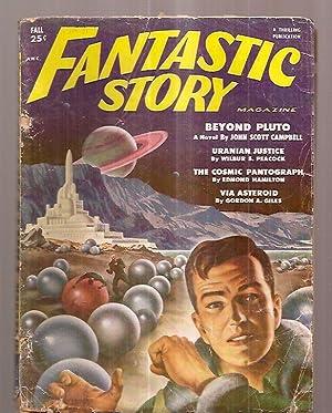 FANTASTIC STORY MAGAZINE FALL 1951 VOL. 3: Fantastic Story) [John