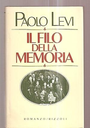 IL FILO DELLA MEMORIA: Levi, Paolo [fravica