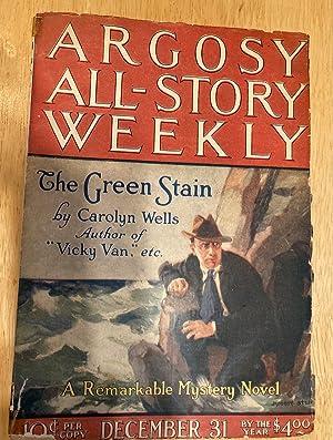 ARGOSY ALL-STORY WEEKLY DECEMBER 31, 1921 VOLUME: Argosy All-Story Weekly)