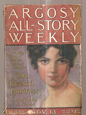 ARGOSY ALL-STORY WEEKLY NOVEMBER 13, 1920 VOL. CXXVII NUMBER 3