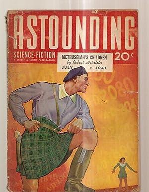 ASTOUNDING SCIENCE-FICTION JULY 1941 VOL. XXVII NO.: Astounding Science-Fiction) [cover