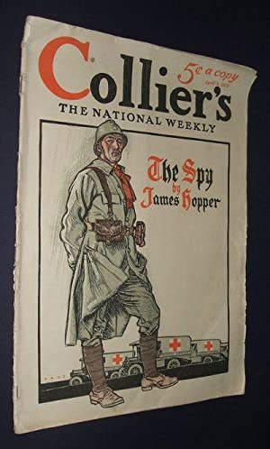 COLLIER'S THE NATIONAL WEEKLY APRIL 8 1916 VOLUME 57 NUMBER 4