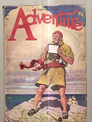 ADVENTURE DECEMBER 10TH 1925 VOL. LVI NO. 1 [