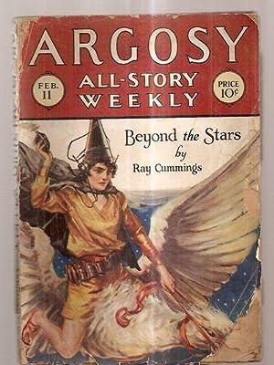 ARGOSY ALL-STORY WEEKLY FEBRUARY 11, 1928 VOLUME: Argosy All-Story Weekly)