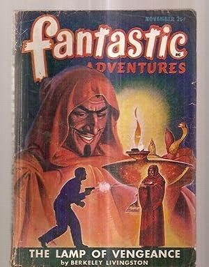 FANTASTIC ADVENTURES NOVEMBER 1947 VOLUME 7 NUMBER: Fantastic Adventures) [cover