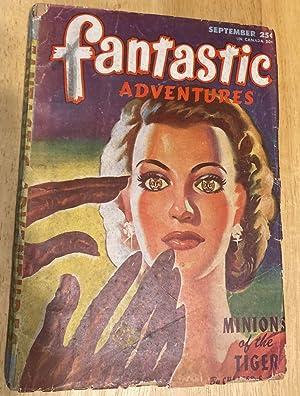 FANTASTIC ADVENTURES SEPTEMBER 1946 VOLUME 8 NUMBER: Fantastic Adventures) [cover