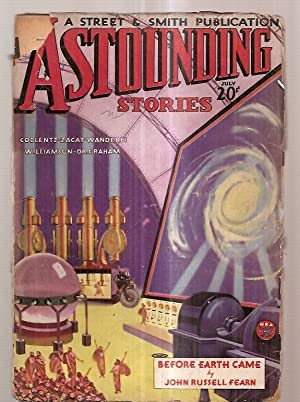 ASTOUNDING STORIES JULY 1934 VOLUME XIII NUMBER: Astounding Stories) [cover