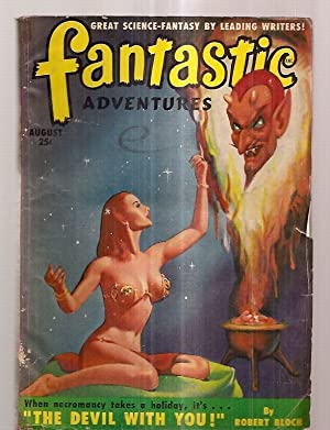 FANTASTIC ADVENTURES AUGUST 1950 VOLUME 12 NUMBER: Edited by Fantastic