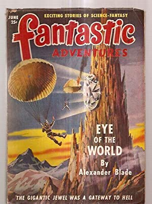 FANTASTIC ADVENTURES JUNE 1949 VOLUME 11 NUMBER: Fantastic Adventures) [cover