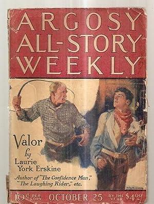 ARGOSY ALL-STORY WEEKLY OCTOBER 25, 1924 VOLUME: Argosy All-Story Weekly)