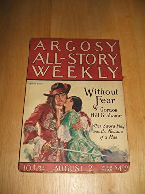 ARGOSY ALL-STORY WEEKLY AUGUST 2, 1924 VOLUME: Argosy All-Story Weekly)