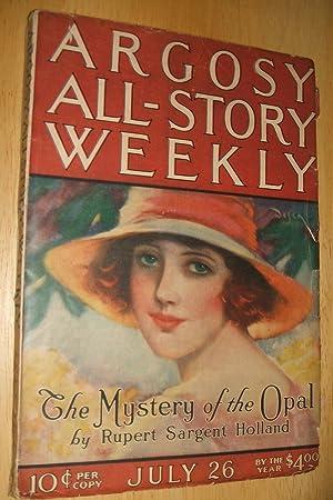ARGOSY ALL-STORY WEEKLY JULY 26, 1924 VOLUME: Argosy All-Story Weekly)