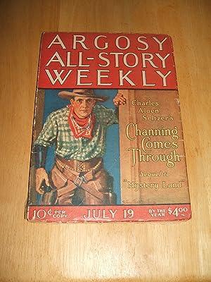 ARGOSY ALL-STORY WEEKLY JULY 19, 1924 VOLUME: Argosy All-Story Weekly)