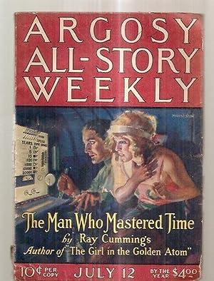 ARGOSY ALL-STORY WEEKLY JULY 12, 1924 VOLUME: Argosy All-Story Weekly)