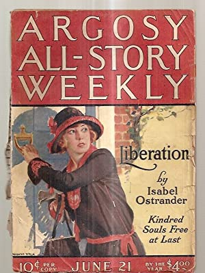ARGOSY ALL-STORY WEEKLY JUNE 21, 1924 VOLUME: Argosy All-Story Weekly)